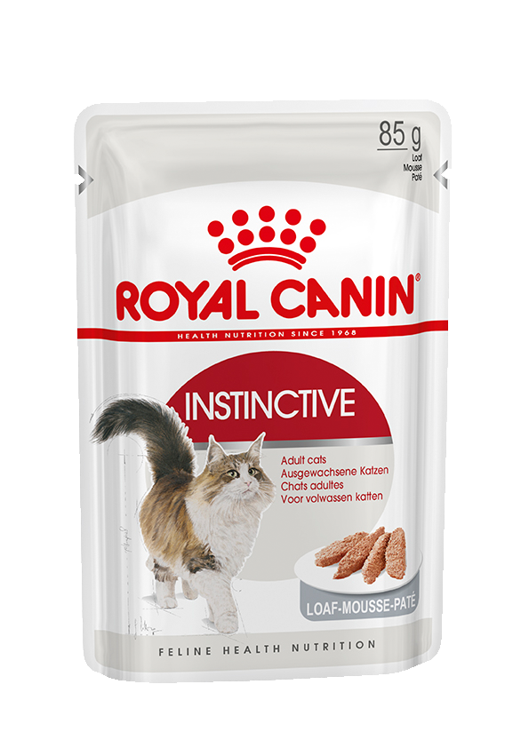 Royal Canin паучи для кошек от 1 года (паштет), Instinctive