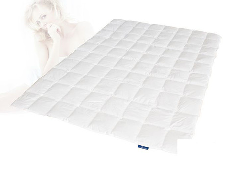 Одеяло пуховое 200х200 Kauffmann Пух Гаги Лиосилк
