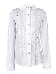 0322 блузка детская, белая