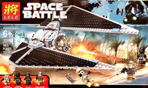 Конструктор 35008 Star Wars Ударный истребитель, 653 дет