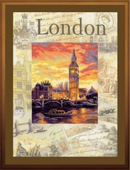 Набор для вышивания Riolis Города мира. Лондон