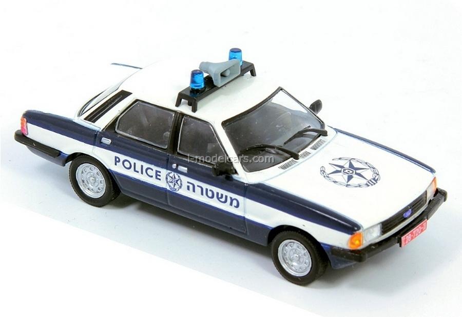 Ford Cortina Israel Police 1:43 DeAgostini World's Police Car #31