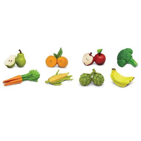 Набор фигурок Фрукты и овощи, Safari Ltd.