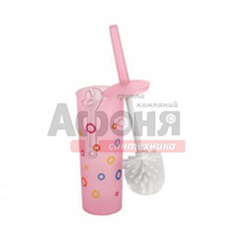 906/L Ерш туалетный цветной пластиковый