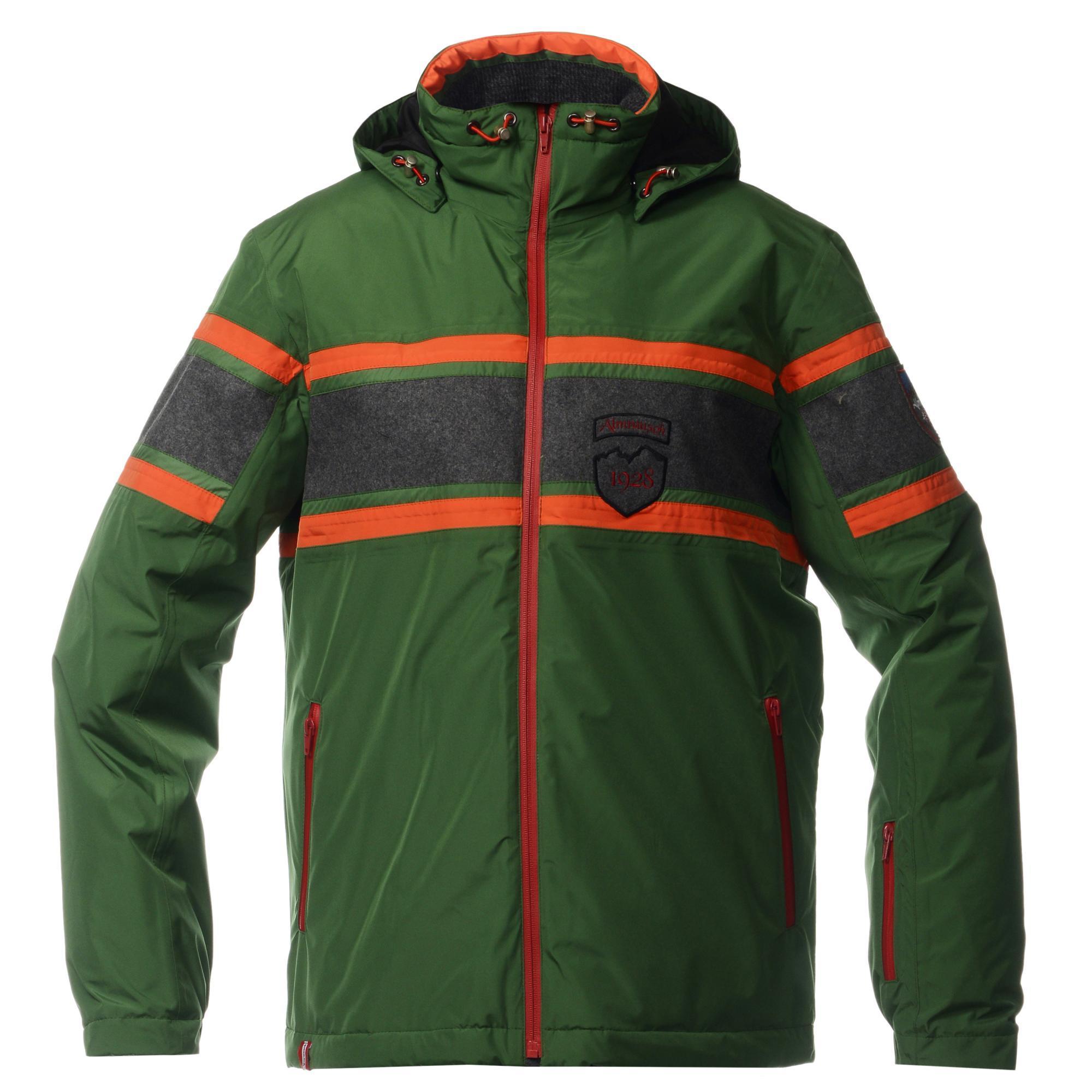 Мужская горнолыжная куртка Almrausch Staad 320103-5405 зеленая фото
