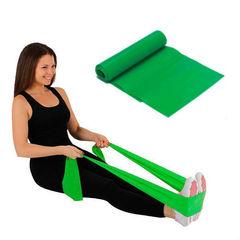 Эластичная фитнес-лента Суперэластик, нагрузка до 13,6 кг