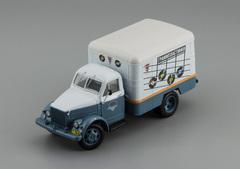 "1:43 Горький  КИ-51 фургон  ""Граммпластинки"""