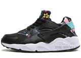 Кроссовки Женские Nike Air Huarache Havai Black White