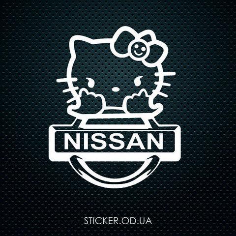 Наклейка на авто NISSAN