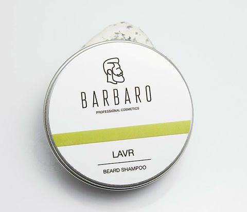 Шампунь мыло для бороды Barbaro «Lavr» (50 гр)