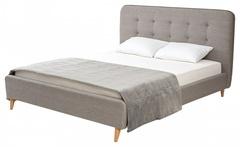 Кровать SWEET DAMIAN 160x200 ткань Beige 1 — бежевый