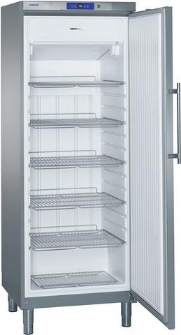 фото 1 Морозильный шкаф Liebherr GGv 5860 нерж на profcook.ru
