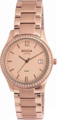 Купить Женские наручные часы Boccia Titanium 3235-01 по доступной цене
