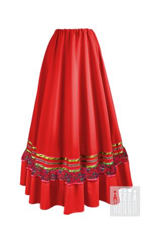 Фото Донская Казачка юбка женская рисунок Выбирайте лучший казачий костюм в Мастерской Ангел. Мы специализируемся на народной, в том числе, казачьей одежде!