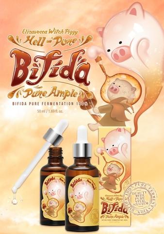 Сыворотка для лица с экстрактом бифидобактерий 97% Hell-Pore Bifida Premium Ample Elizavecca