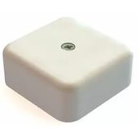 Коробка распаячная КР 50х50х20 ОП с клем. колодкой белая IP40 TDM