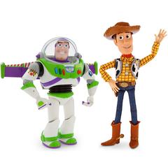 Баз Лайтер 30 см и шериф Вуди 40 см История игрушек