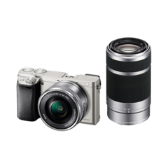 Sony Alpha ILCE-6000Y Kit Silver