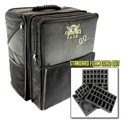 Рюкзак Battle Foam со стандартными треями (черный)