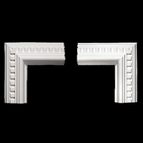 Угловой элемент Европласт из полиуретана 1.52.318, интернет магазин Волео