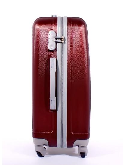 Чемодан Ananda 533 Бордовый ручная кладь (S)