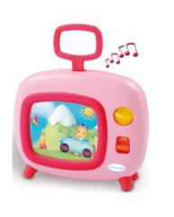 Smoby Телевизор музыкальный розовый (211316-2)