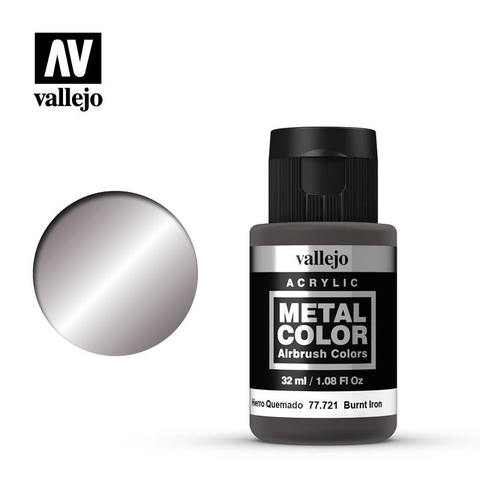 Metal Color Burnt Iron 32ml.