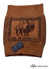 Пояс вязаный 100% шерсть верблюда (Монголия)