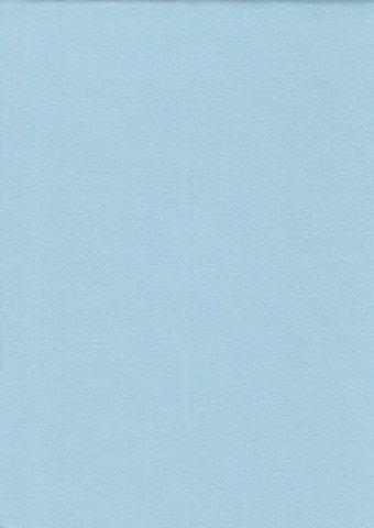Простыня на резинке 160x200 Сaleffi Tinta Unito с бордюром светло-голубая