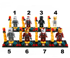 Minifigures Iron Man Blocks Building Series 01