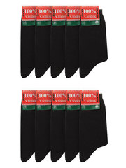 MC-20-1 носки мужские (10шт), черные