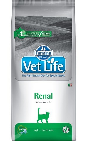 Сухой ветеринарный корм Farmina Vet Life Cat Renal