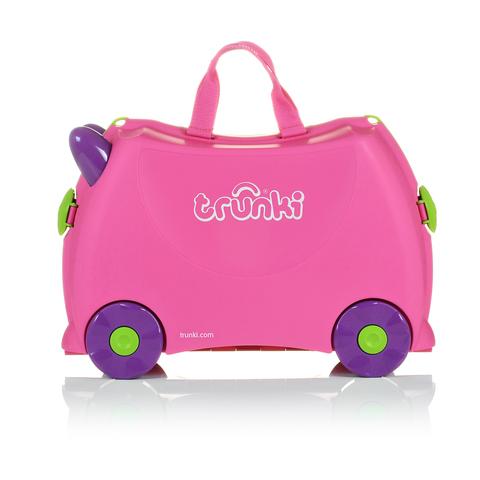Чемодан на колесиках Trixie, розовый