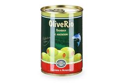 Оливки с лососем