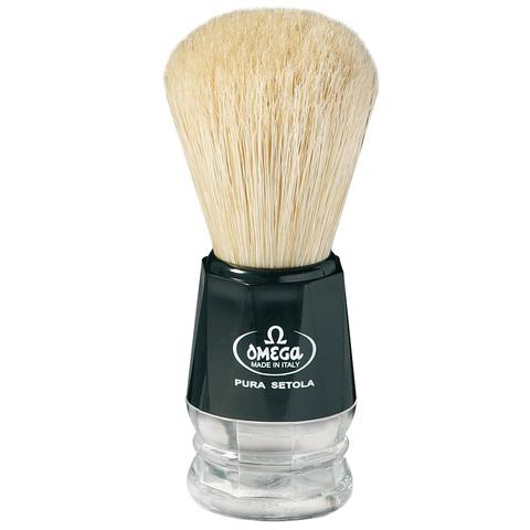 Помазок для бритья Omega натуральный кабан 10019