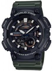 Мужские электронные часы Casio AEQ-110W-3A