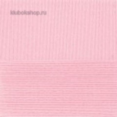 Пряжа Цветное кружево (Пехорка) 180 светлая бегония