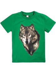 BK003-27 футболка детская, зеленая