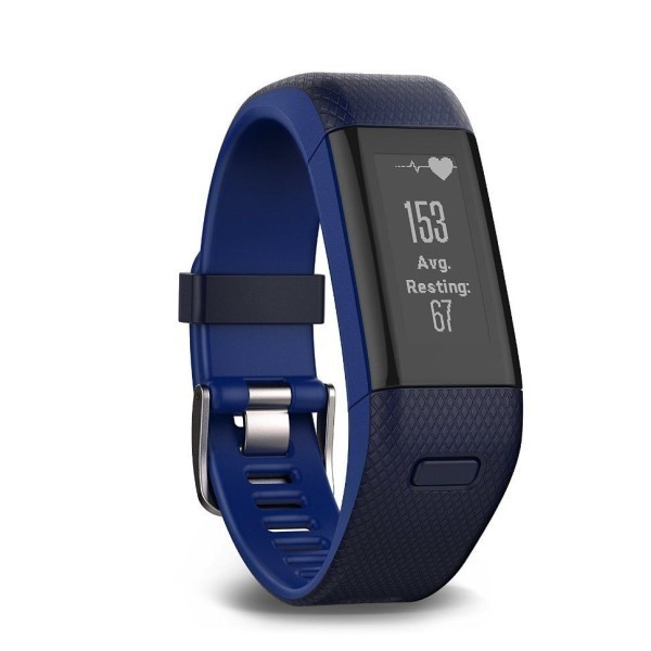 Фитнес-браслет Garmin Vivosmart HR+ темно-синий