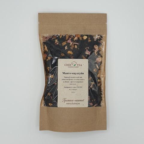 Черный чай МАНГО-МАРАКУЙЯ, 100 гр