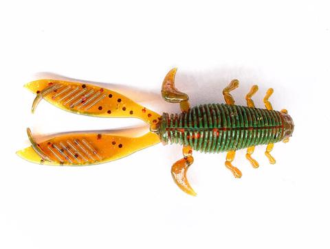 Мягкая съедобная приманка LJ Pro Series Insector 2.8 in (70 мм), цвет 085, 8 шт