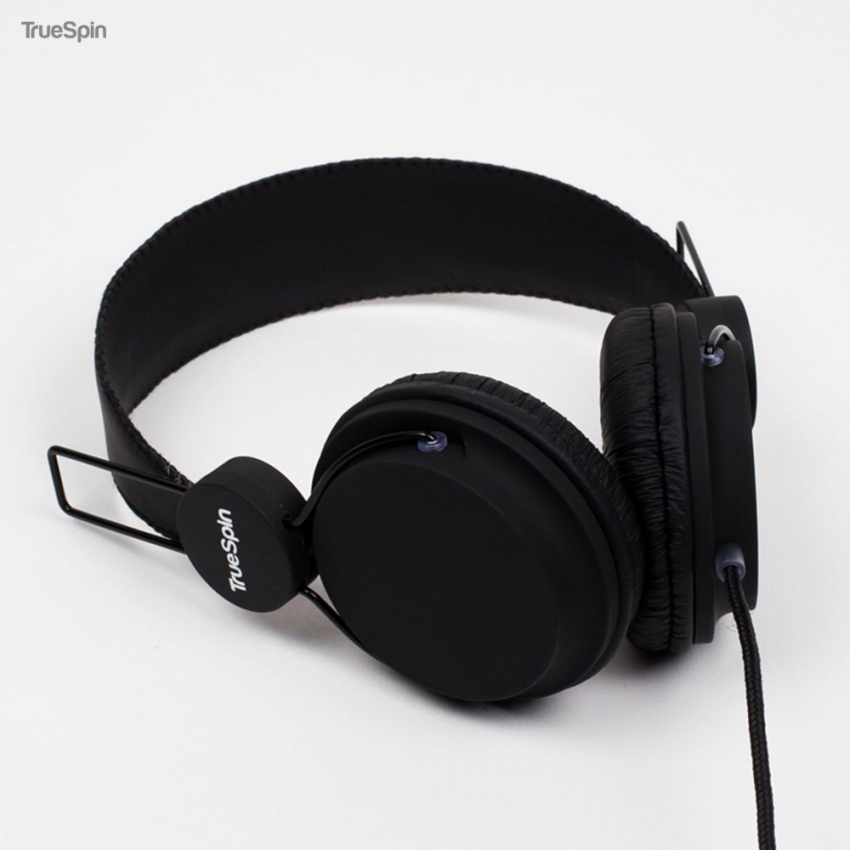 Наушники TRUESPIN BASIC HEADPHONE BLACK