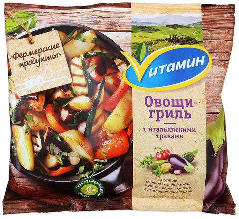 """Овощи-гриль с итальянскими травами """"Vитамин"""" 400 г"""