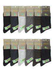 D2003 носки мужские (41-47), цветные (12шт)