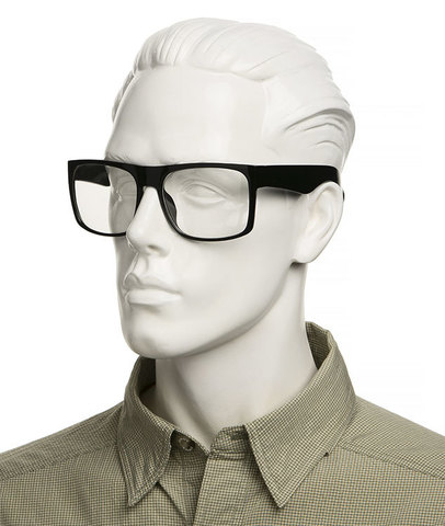 Очки с прозрачными линзами  Артикул: ОП. Входят в комплект