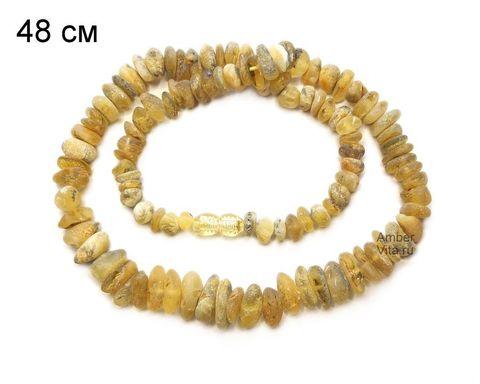 бусы лечебные из необработанного янтаря