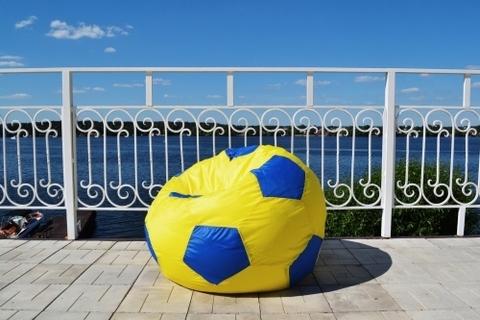 Кресло-мешок «Мяч» Желто-синий