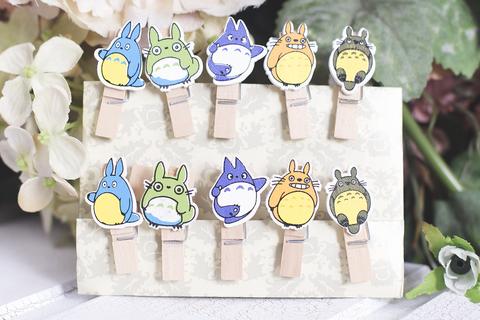 Набор прищепок Totoro