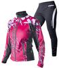 Женский лыжный разминочный костюм Noname Clubline Activation розовый