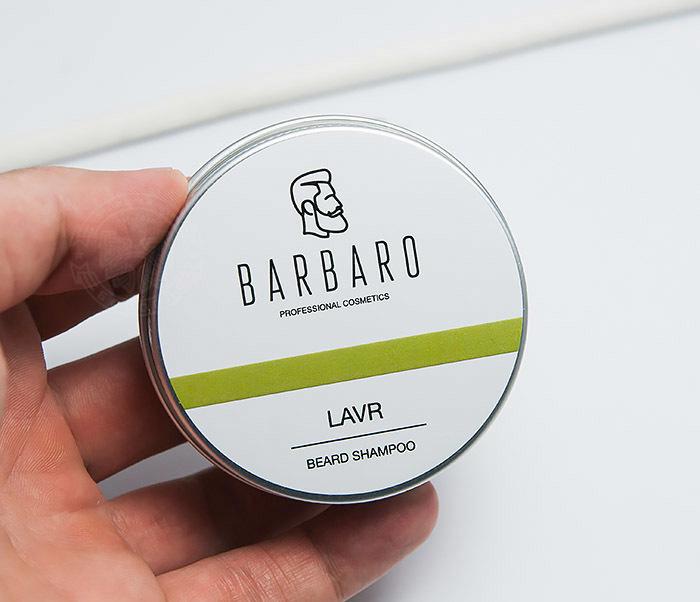 RAZ1011 Шампунь мыло для бороды Barbaro «Lavr» (50 гр) фото 03